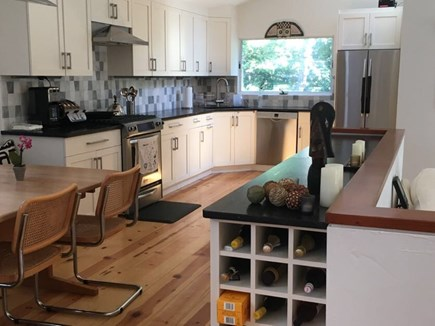Wellfleet Cape Cod vacation rental - Renovated kitchen with modern appliances