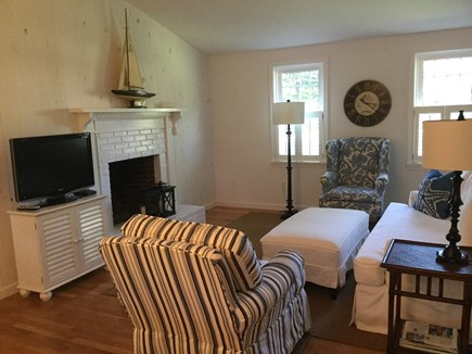 Orleans Cape Cod vacation rental - Relax in the comfortable, coastal open living room