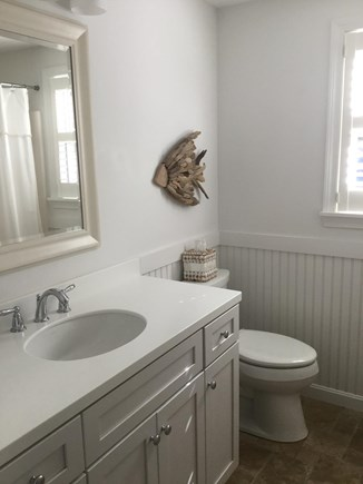 Orleans Cape Cod vacation rental - Guest full bathroom with tub/shower combo.