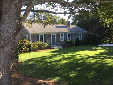 Orleans Cape Cod vacation rental - View of the charming cottage coming from the beach!