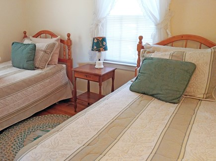 Barnstable Village Cape Cod vacation rental - 2 twin beds just off the living room area