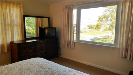 Barnstable Village Cape Cod vacation rental - The upper level bedroom with queen bed and ocean view