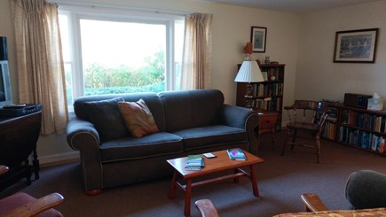 Barnstable Village Cape Cod vacation rental - The living room is bright and comfortable