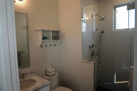 New Silver Beach, No. Falmouth Cape Cod vacation rental - First Floor Bathroom