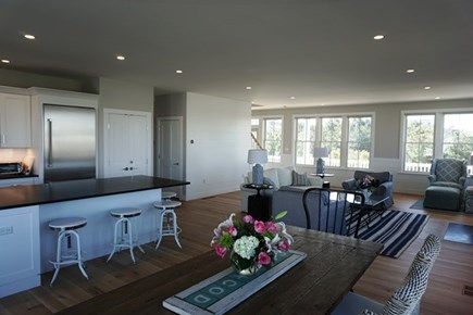 New Silver Beach, No. Falmouth Cape Cod vacation rental - Kitchen/Dining Room