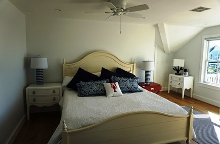 New Silver Beach, No. Falmouth Cape Cod vacation rental - Other Bedroom with King Bed