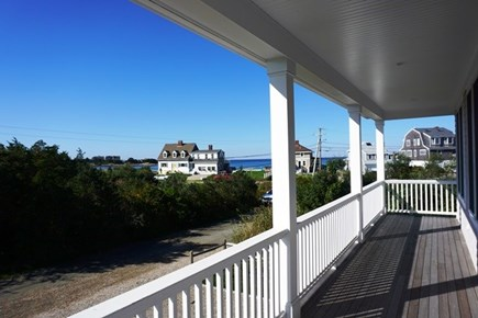 New Silver Beach, No. Falmouth Cape Cod vacation rental - Front Porch View