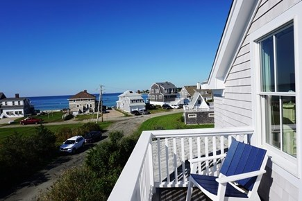 New Silver Beach, No. Falmouth Cape Cod vacation rental - Upper Deck View