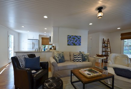 Megansett, No. Falmouth Cape Cod vacation rental - Large comfortable living room