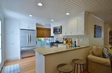 Megansett, No. Falmouth Cape Cod vacation rental - Kitchen bar w/ seating