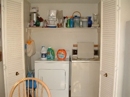 North Falmouth  Cape Cod vacation rental - Laundry- in kitchen