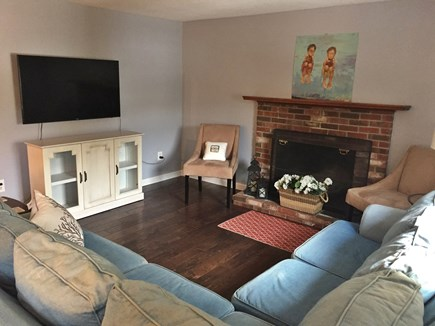 Brewster Cape Cod vacation rental - with plenty of seating and a H/D smart TV.