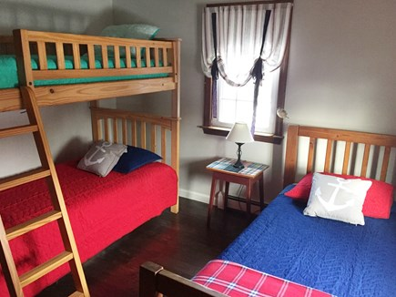 Brewster Cape Cod vacation rental - Second bedroom with twin sized beds