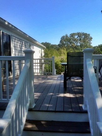 Brewster Cape Cod vacation rental - New over sized deck
