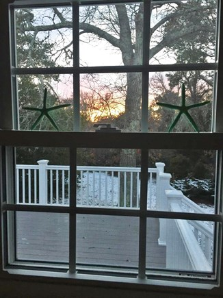 Brewster Cape Cod vacation rental - and relaxing sunset views.