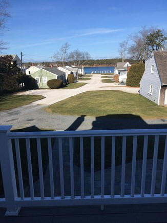 West Dennis Cape Cod vacation rental - Water view from second floor deck