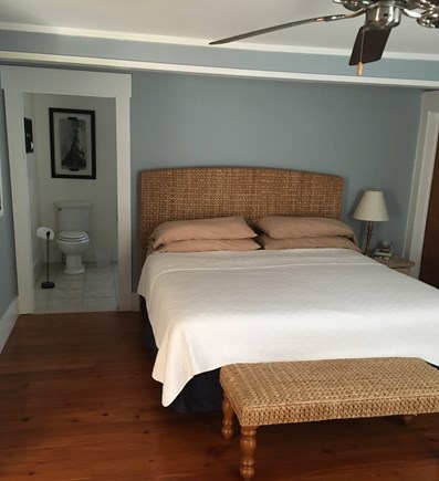 West Dennis Cape Cod vacation rental - First floor master suite - king bed with full bath