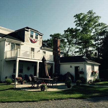 West Dennis Cape Cod vacation rental - Large backyard patio