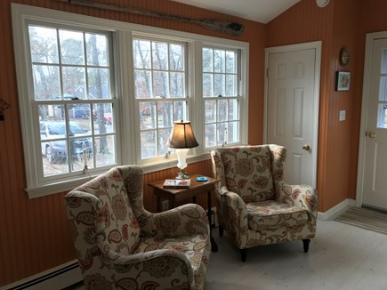 Eastham Cape Cod vacation rental - Kitchen sitting area
