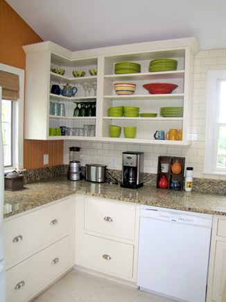Eastham Cape Cod vacation rental - Kitchen cabinet view