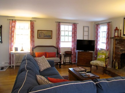 Eastham Cape Cod vacation rental - Living room view