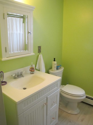 Eastham Cape Cod vacation rental - 1st floor bathroom with bath/shower combo.