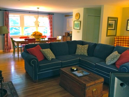 Eastham Cape Cod vacation rental - Living room/dining room view