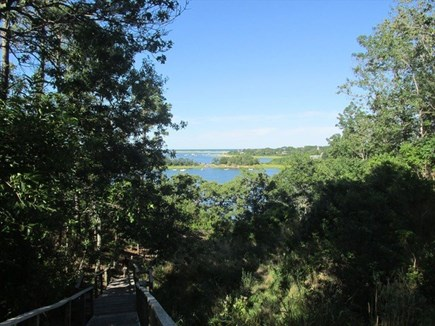Orleans Cape Cod vacation rental - Path to Mill Pond just a short walk from this home