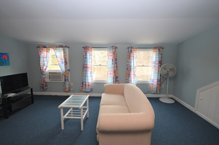 Orleans Cape Cod vacation rental - Upper level bedroom with seating area, flat screen tv, AC