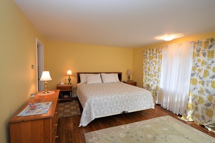 Orleans Cape Cod vacation rental - Main level master bedroom with king size bed and en suite