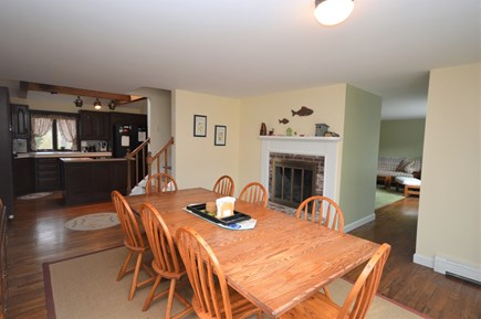 Orleans Cape Cod vacation rental - Large dining area opening into living room and kitchen