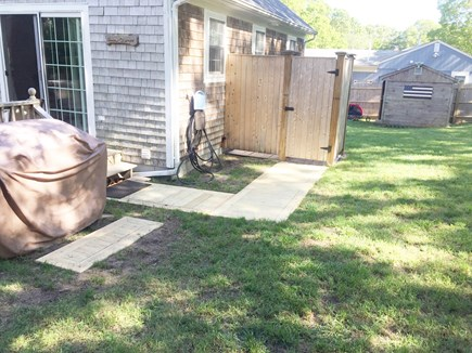 Dennis Cape Cod vacation rental - Large Outdoor shower with changing area