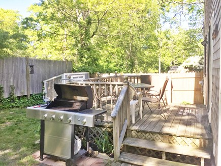 Dennis Cape Cod vacation rental - Deck and grill area