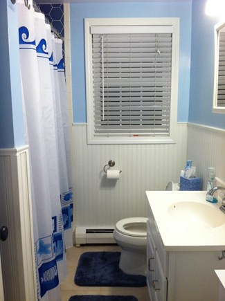 Dennis Cape Cod vacation rental - Bathroom with tub/shower on main floor