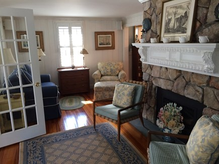 Harwich Port Cape Cod vacation rental - Fireplace