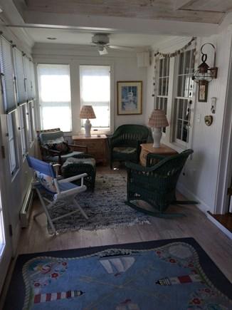 Harwich Port Cape Cod vacation rental - Porch Right