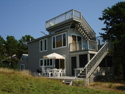Wellfleet Cape Cod vacation rental - Three decks and a screened in porch.