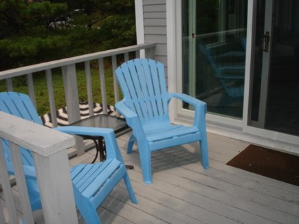 Wellfleet Cape Cod vacation rental - Deck outside bedroom, which leads to an upper deck too!