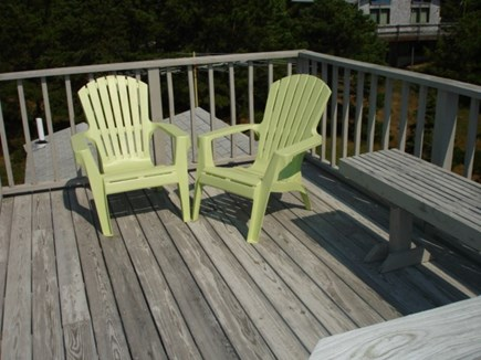 Wellfleet Cape Cod vacation rental - Third deck which is a roof top deck! Star gaze!