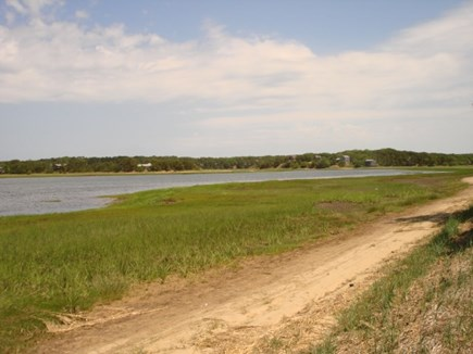 Wellfleet Cape Cod vacation rental - Meander down to the tidal waterside to relax.