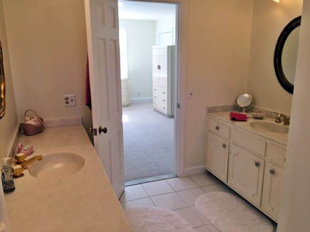 Falmouth Cape Cod vacation rental - Full bath with shower and tub off master bedroom on 1st floor