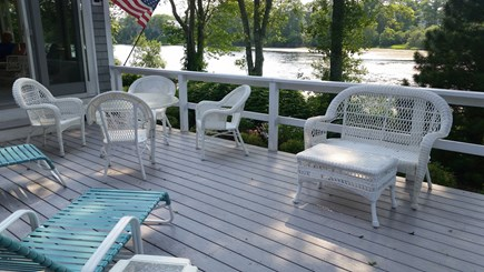 Falmouth Cape Cod vacation rental - View of Jones Pond from the deck