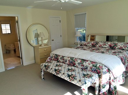 Falmouth Cape Cod vacation rental - Master bedroom with King bed and full bathroom