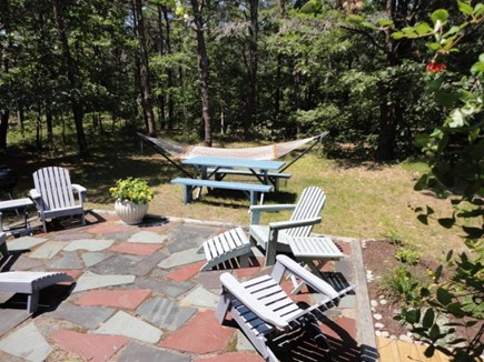 Wellfleet Cape Cod vacation rental - Patio to relax