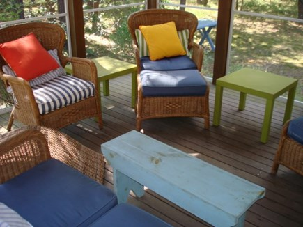 Wellfleet Cape Cod vacation rental - Screened in porch is where you will find yourself day & night