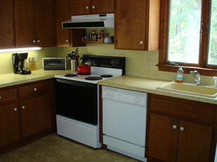 Wellfleet Cape Cod vacation rental - Kitchen off of dining room