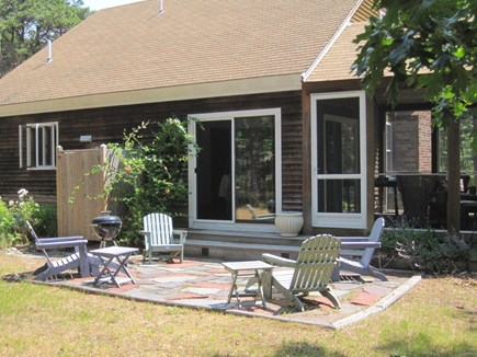 Wellfleet Cape Cod vacation rental - Slider from Dining to patio & outdoor shower