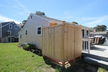 Chatham Cape Cod vacation rental - Outdoor Shower and back deck