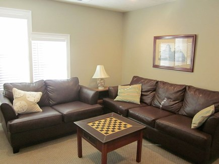 Dennis Cape Cod vacation rental - TV area on 2nd floor between bedrooms