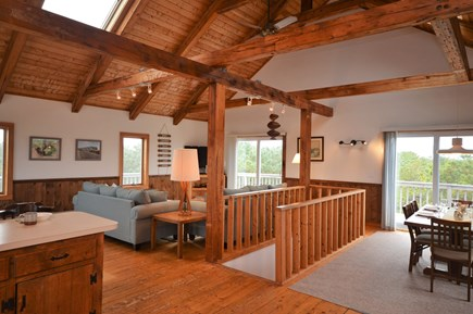 Eastham Cape Cod vacation rental - Spacious 3rd floor living area with kitchen, dining area